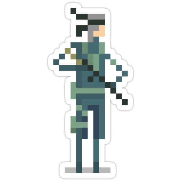 Metal Gear's - Solid Snake by jackfords