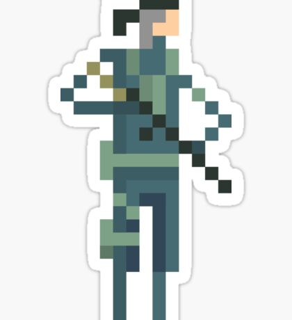 Metal Gear's - Solid Snake Sticker