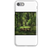 Obey in the nature  iPhone Case/Skin