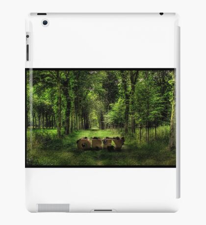 Obey in the nature  iPad Case/Skin