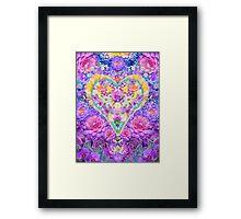 Springtime Heart Framed Print