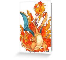 Charizard Greeting Card