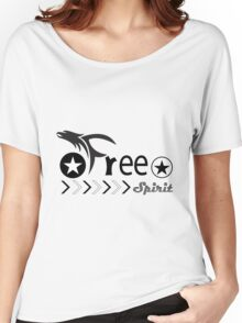 Free Spirit (version 2) Women's Relaxed Fit T-Shirt