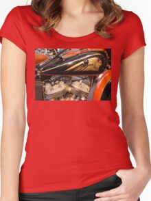 'V-Twin' 1930s Women's Fitted Scoop T-Shirt