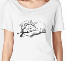 K.O Women's Relaxed Fit T-Shirt