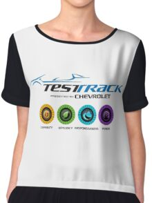 Test Track 2.0 Chiffon Top
