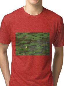 Lily Pads in Vietnam Tri-blend T-Shirt