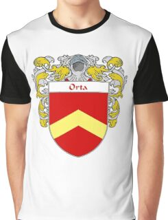 Orta Coat of Arms/Family Crest Graphic T-Shirt