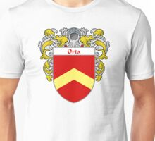 Orta Coat of Arms/Family Crest Unisex T-Shirt