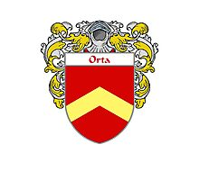 Orta Coat of Arms/Family Crest Photographic Print