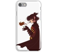 Red Robin with a Robin iPhone Case/Skin