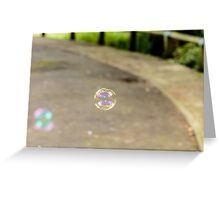 Small Bubble Greeting Card