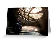 Doctor Strange edit by lichtblickpink Greeting Card