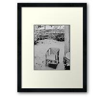 The Winter of Discontent Framed Print