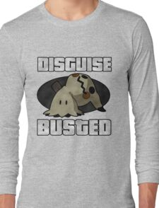 Busted! Long Sleeve T-Shirt