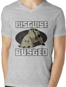 Busted! Mens V-Neck T-Shirt