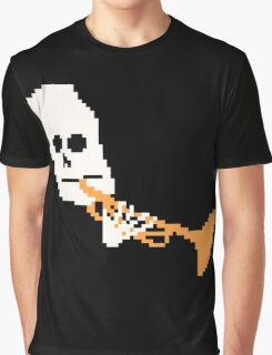Doot Mr.Skeltal Meme Pixel Art 2spooky4me Graphic T-Shirt