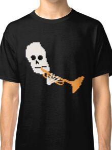 Doot Mr.Skeltal Meme Pixel Art 2spooky4me Classic T-Shirt