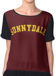 sunnydale high school  Chiffon Top
