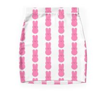 Pink Bunny Peeps Mini Skirt