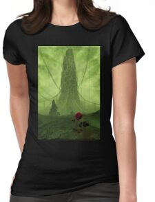 The Tower and the Rose Womens Fitted T-Shirt