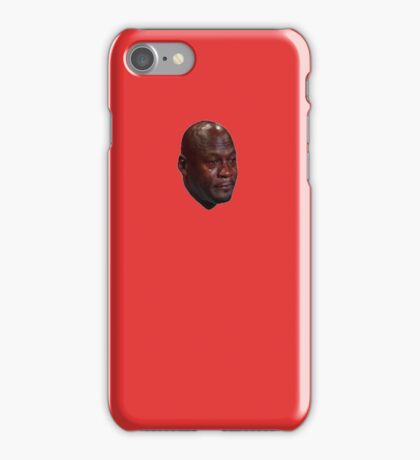 Crying Jordan iPhone Case (Red) iPhone Case/Skin
