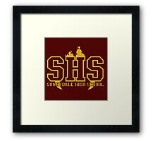 sunnydale high t-shirt Framed Print
