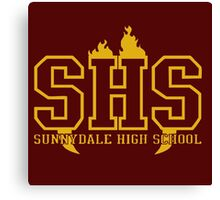 sunnydale high t-shirt Canvas Print