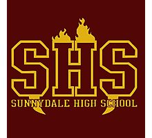sunnydale high t-shirt Photographic Print