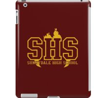 sunnydale high t-shirt iPad Case/Skin