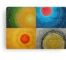 The Four Seasons collage Canvas Print