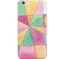Mosaic in Orange, Pink and Green iPhone Case/Skin