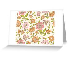 Flower pattern Greeting Card