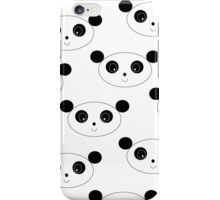 Happy Panda iPhone Case/Skin