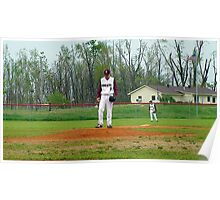 """ETHAN C. HOWELL ON THE MOUND FOR THE """"COMETS"""" Poster"""