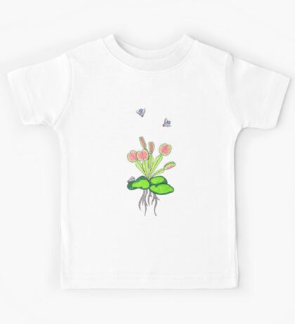 Venus fly trap Kids Tee