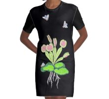 Venus fly trap Graphic T-Shirt Dress