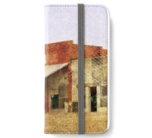 Abandoned Feed Store iPhone Wallet/Case/Skin