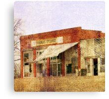 Abandoned Feed Store Canvas Print