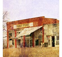 Abandoned Feed Store Photographic Print