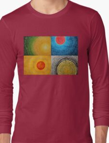 The Four Seasons collage Long Sleeve T-Shirt