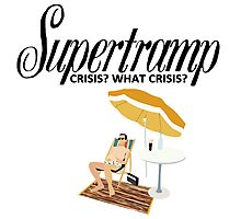 Supertramp Crisis? What Crisis? Photographic Print