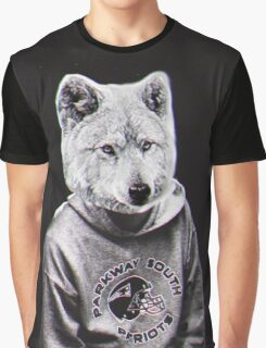 Wolf Man Graphic T-Shirt