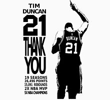 Tim Duncan Retire - San Antonio Spurs NBA Unisex T-Shirt