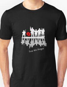 Lest We Forget Unisex T-Shirt