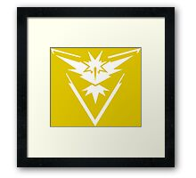 Pokemon Go Instinct Framed Print