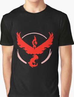 Team Valor Pokemon GO Team Red Pokémon-GO! Graphic T-Shirt
