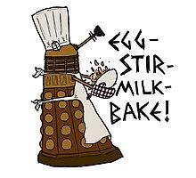 Egg-Stir-Milk-Bake Photographic Print