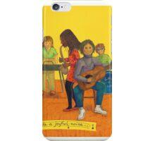 Make a joyful noise iPhone Case/Skin