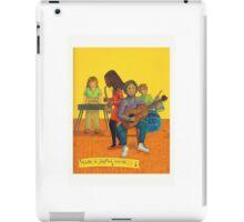 Make a joyful noise iPad Case/Skin